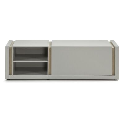 Amias Single Door 140cm TV Unit - Grey