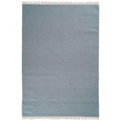 Stringa Modern Wool Rug, 300x200cm, Teal