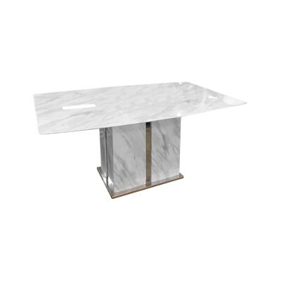 Monica Marble Dining Table, 180cm
