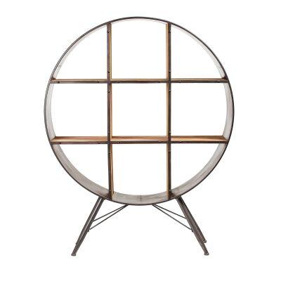 Lavington Metal & Wood Display Shelf