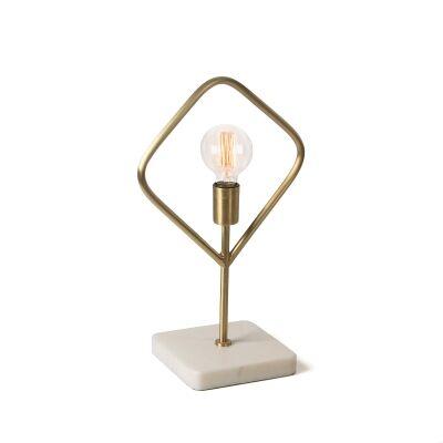 Aaric Brass Table Lamp