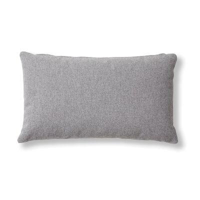Franco Fabric Lumbar Cushion, Grey