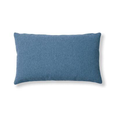 Franco Fabric Lumbar Cushion, Dark Blue