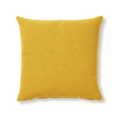 Franco Fabric Scatter Cushion, Mustard