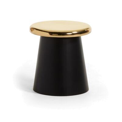Philis Steel Round Side Table