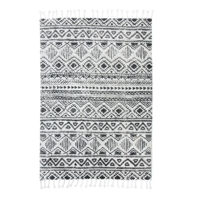 Cillian Printed Cotton Rug, 230x160cm