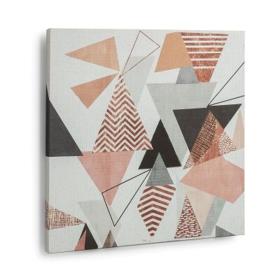 Aleesha Stretched Canvas Wall Art Print, 50cm