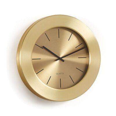 Reem Metal Frame Round Wall Clock, 35cm