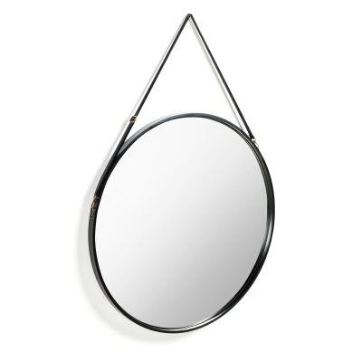 Bresca Hanging Round Wall Mirror, 80cm