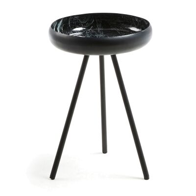Marion Iron Round Side Table
