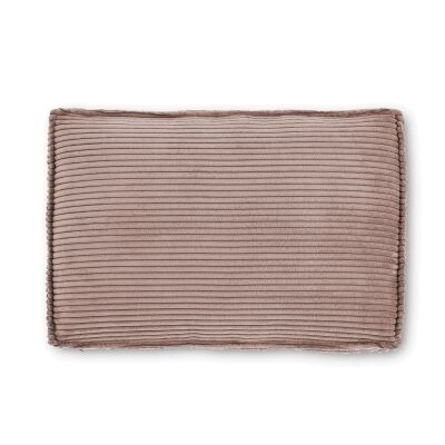 Lorton Corduroy Fabric Lumbar Cushion, Blush