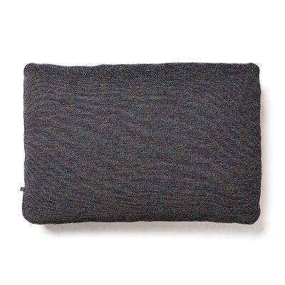 Lorton Fabric Lumbar Cushion, Charcoal