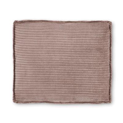 Lorton Corduroy Fabric Euro Cushion, Blush
