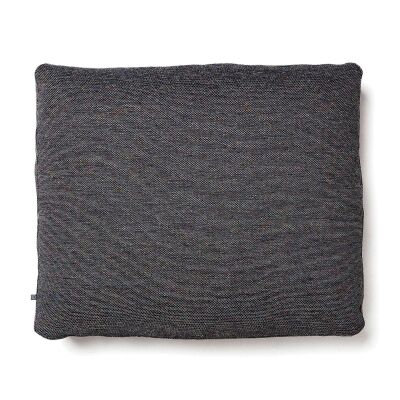 Lorton Fabric Euro Cushion, Charcoal