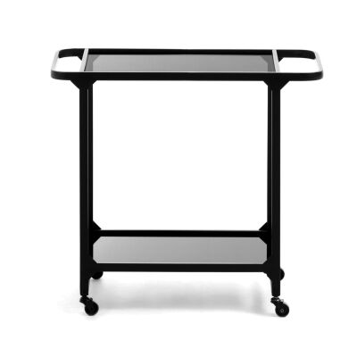 Mosedale Metal & Glass Auxiliary Table