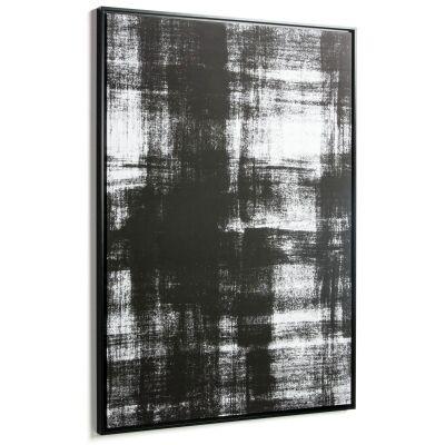 Wabi Framed Abstract Canvas Wall Art Print, 120cm