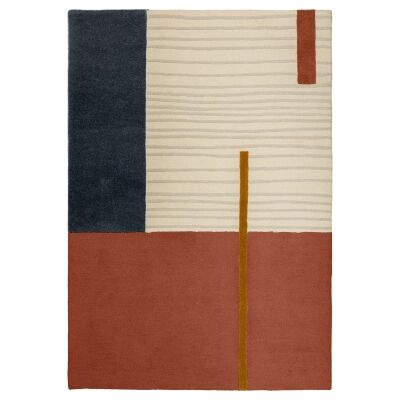 Tosson Handwoven Wool Rug, 230x160cm