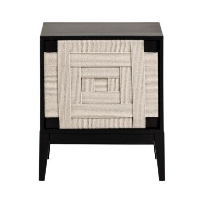 Muko Timber Bedside Table
