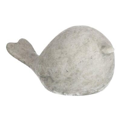 Alamo Cement Bird Figure Decor, Small