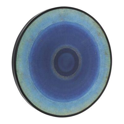 Milesmark Round Framed Abstract Canvas Wall Art, 60cm