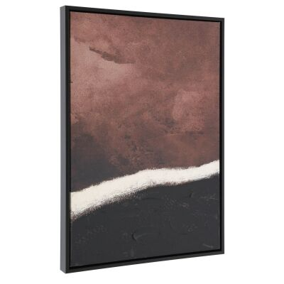 Kennoway Framed Abstract Canvas Wall Art, 90cm