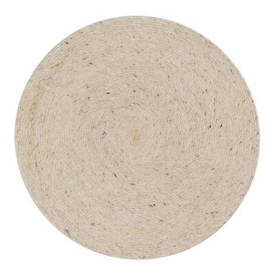 Otira Hand Woven Wool Round Rug, 100cm