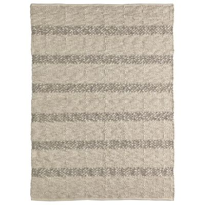 Cuzco Hand Woven Cotton & Wool Rug, 230x160cm