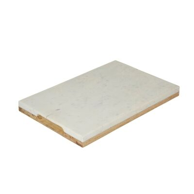Eliot Marble & Mango Wood Double Sided Serving Board