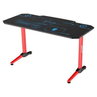 Anda Seat 1400-07 Gaming Desk, 140cm, Red