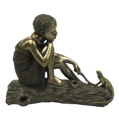 African People Figurine of Fuma, Chance Encounter