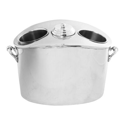 Daisy Stainless Steel Wine Cooler Bucket with Handle