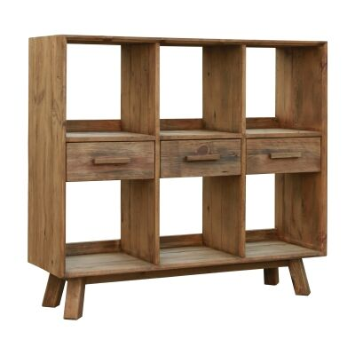 Mandalay Recycled Pine Timber Display Shelf