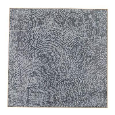 Hugo Pine Timber Framed Cotton Canvas Wall Art, 120cm