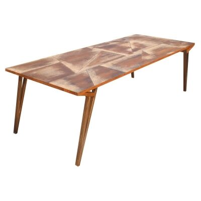 Thiers Mango Wood Dining Table, 220cm