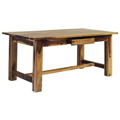 Thompson Solid Mango Wood Timber 180cm Dining Table