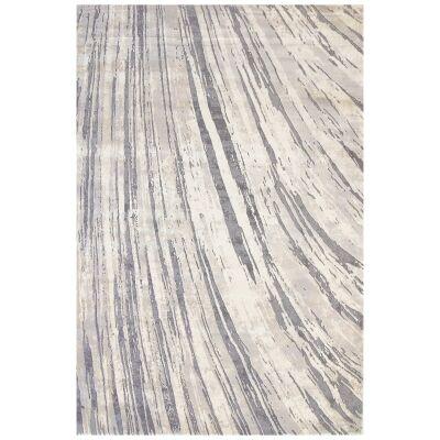 Alyssum Swirl Textured Modern Rug, 160x230cm
