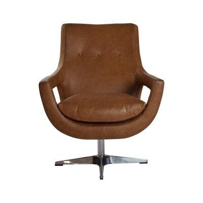 Rosetta Leather Armchair