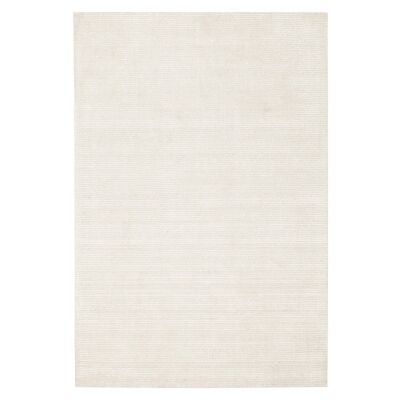Allure Cloud Hand Loomed Modern Rug, 280x190cm, Ivory