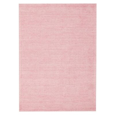 Allure Cloud Hand Loomed Modern Rug, 280x190cm, Rose