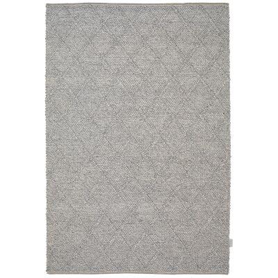 Alexia Modern Wool Rug, 160x110cm, Grey