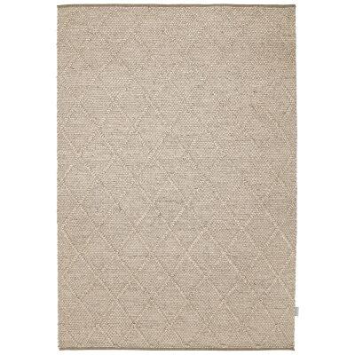 Alexia Modern Wool Rug, 160x110cm, Ivory