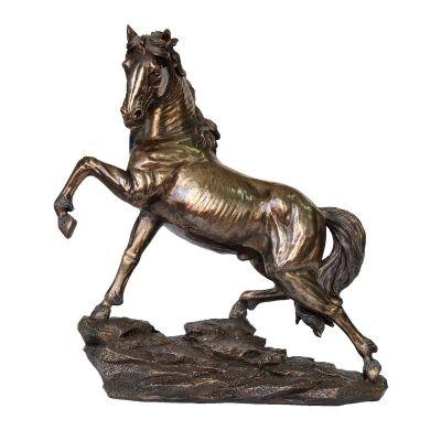 Cast Bronze Wild Life Figurine, Steed
