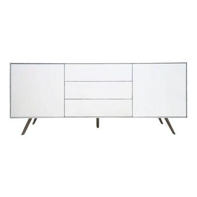 Amarillo 2 Door 4 Drawer Buffet Table, 200cm