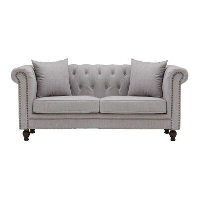 Amedeus Fabric Chestfield Sofa, 2 Seater