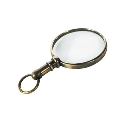 Surveyor Mini Brass Pendant Magnifier