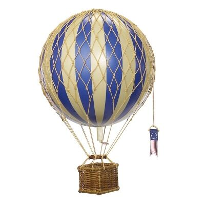 Travels Light Hot Air Balloon Model, Blue