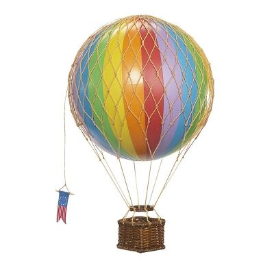 Travels Light Hot Air Balloon Model, Rainbow