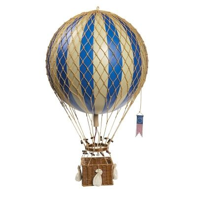 Royal Aero Hot Air Balloon Model, Blue