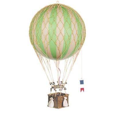 Royal Aero Hot Air Balloon Model, Green