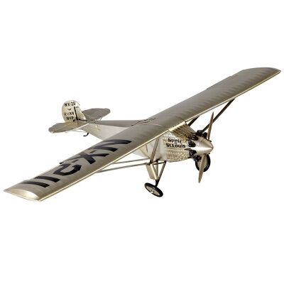 Spirit of St. Louis Airplane Aluminium Scale Model